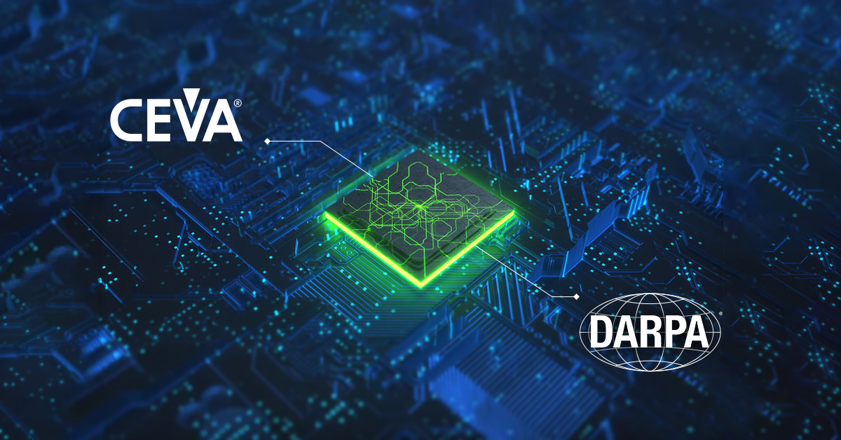 CEVA and DARPA Establish Partnership for Technology Innovation. Commercial partnership under new DARPA Toolbox initiative provides DARPA researchers with access to CEVA's portfolio of wireless connectivity and smart sensing IPs @DARPA