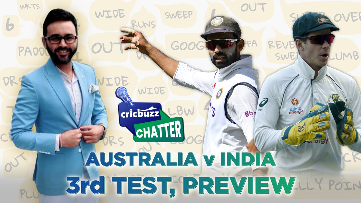 With the return of #RohitSharma to India's Test squad and an injury to Umesh Yadav, #TeamIndia have selection dilemmas to answer!  Watch @parthiv9 answer India's selection questions as he previews the third Test on #CricbuzzChatter with @Tanay_Tiwari   #AUSvIND #DavidWarner