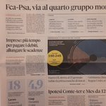 Image for the Tweet beginning: Il #rappcoop20 su @sole24ore in
