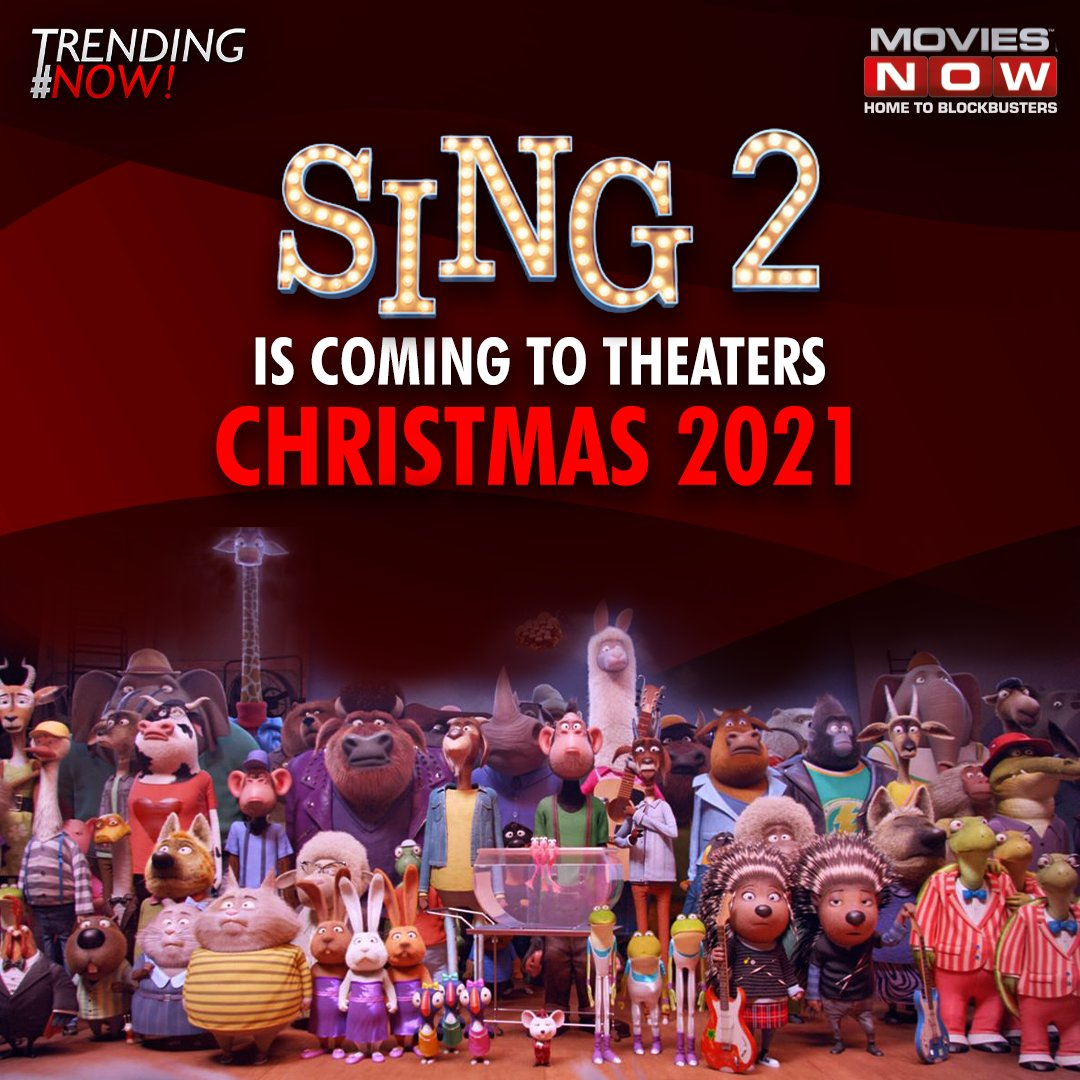 Sing 2 the animated musical comedy written and directed by #GarthJennings, announced a release date and new additions to its already stellar star cast in @OfficialBono, @Pharrell and @halsey.   #Sing2 #Pharrel #Halsey