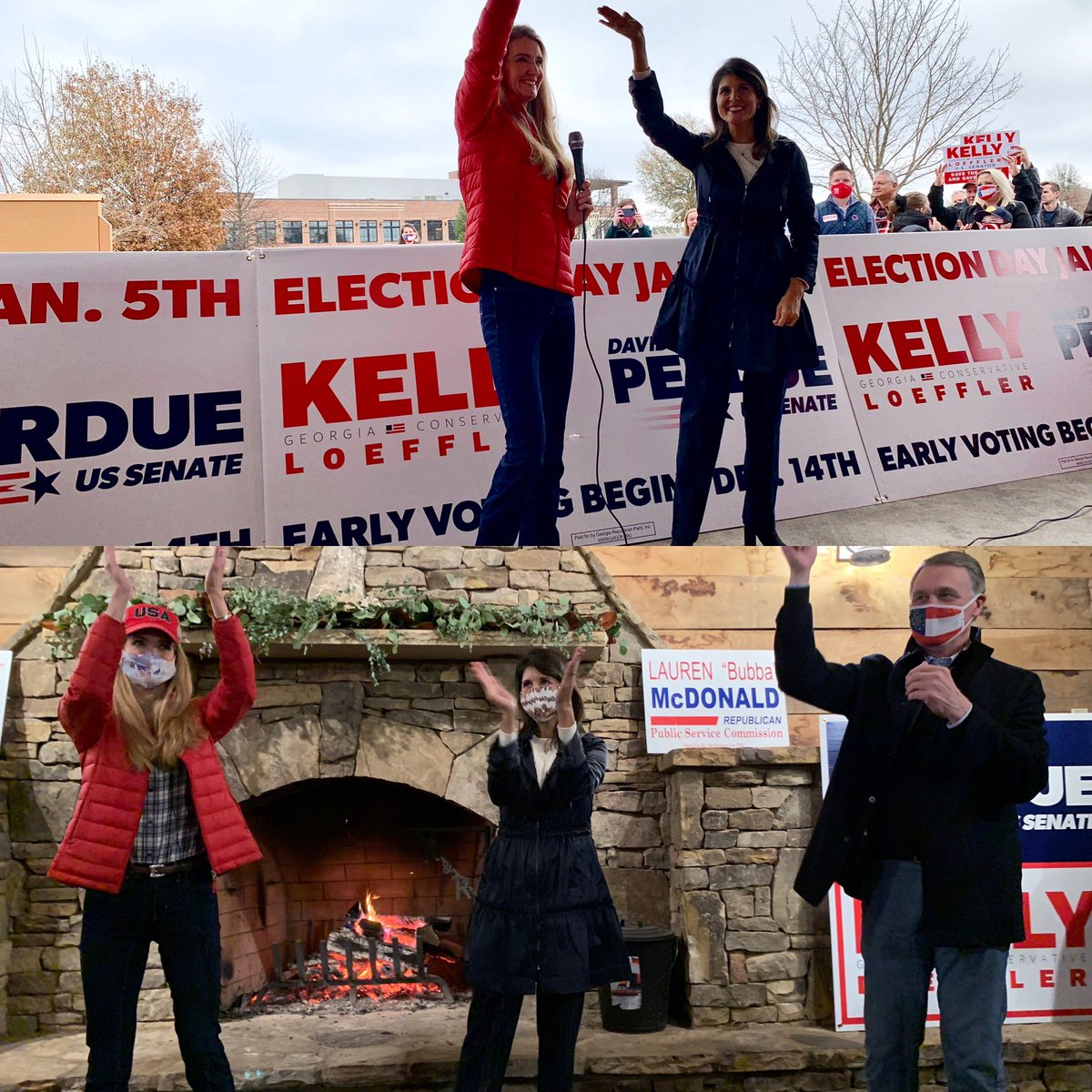 Georgia, please use the power of your voice and vote today! The country is counting on you. Vote Loeffler/Perdue ❤️🇺🇸 @KLoeffler @Perduesenate https://t.co/tEWK7ZrVR9