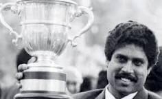 @KapilSharmaK9 महानतम क्रिकेट खिलाड़ी कपिल देव 🏏 को आज 6 जनवरी को जन्मदिवस की बहुत-बहुत शुभकामनाएं✍️  आपका 1983 में भारत को जिताया गया विश्व कप  से सीना हमारा आज भी चौड़ा है मैदान में भारत का तिरंगा लहराया उसकी  चमक आज भी मारी आंखों मेंहै  🎆🌈♥️🎆
