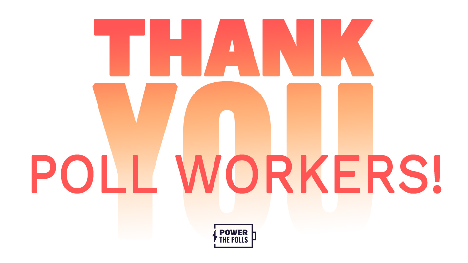Poll workers across the state of Georgia are have been working hard to ensure that the democratic process remains safe, effective, and secure. Remain patient today and be sure to thank a poll worker! They are democracy heroes.
