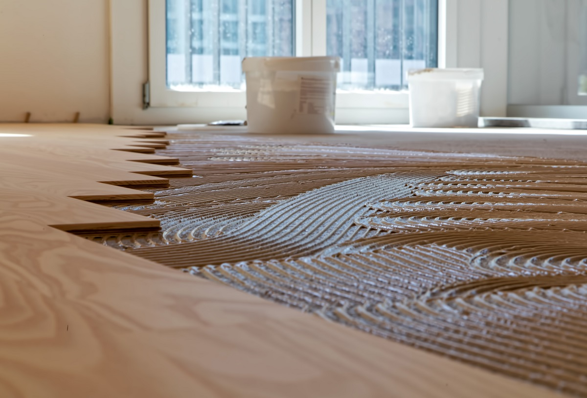 Sika's #WoodFloor installation systems are designed to meet the requirements of your selected #WoodFlooring, your new or existing substrate, your flooring contractor, and the expectations of the owners and end users.  More: https://t.co/HnpmC1GjnB  #Parquet #WoodFloorSealing https://t.co/31asCGORC4
