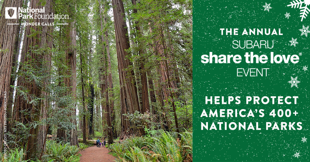 Thank you for another great #ShareTheLove Event, @subaru_usa! We're grateful for Subaru's support of our work to protect national parks and connect even more people to them year after year.  #FindYourPark #EncuentraTuParque
