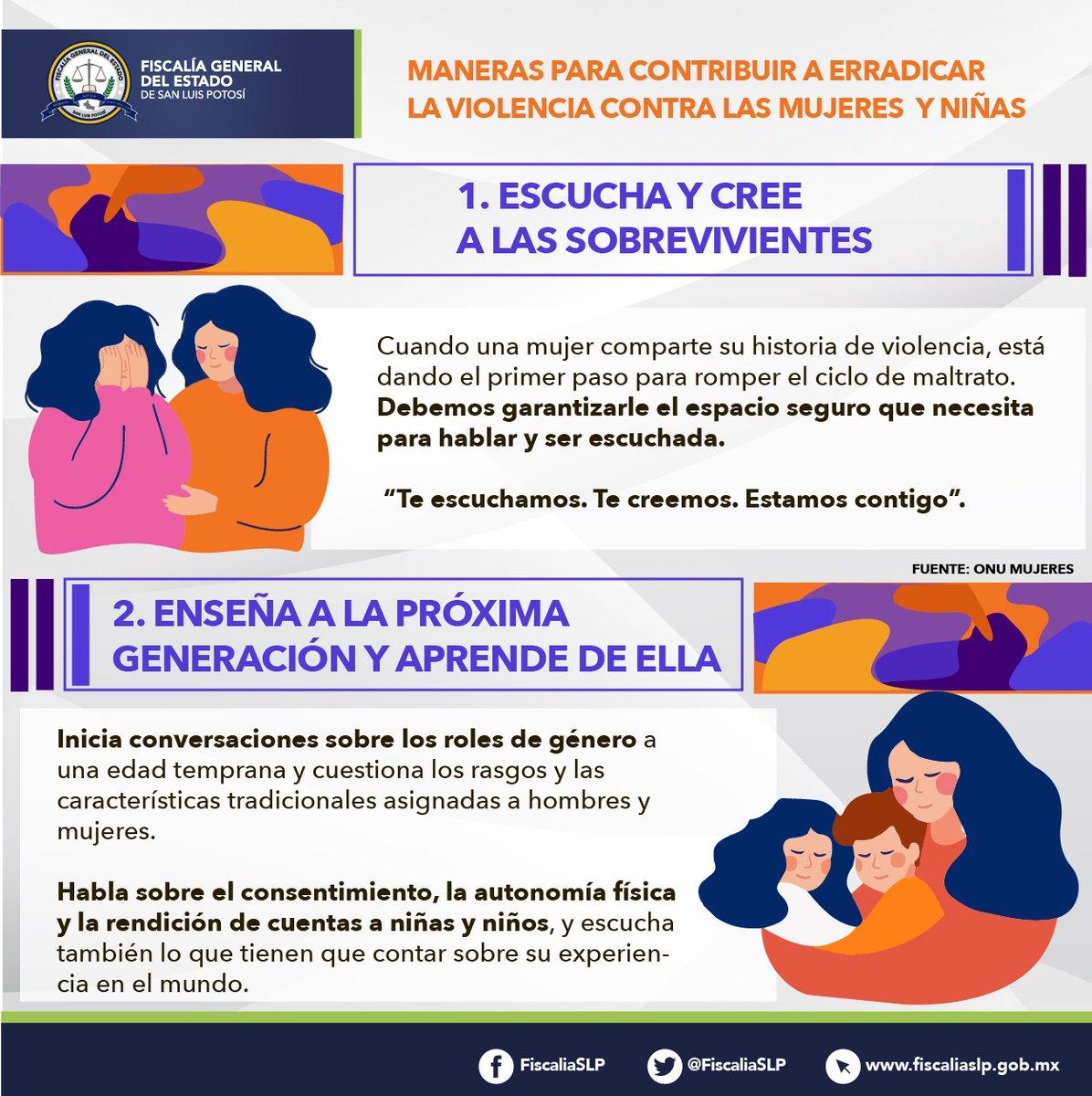 #16Días #DíaNaranja 🧡 | Poner fin a la violencia contra las mujeres y niñas es asunto de todas y todos, compartimos contigo diferentes maneras en que podemos hacer cambios. #NoEstásSola