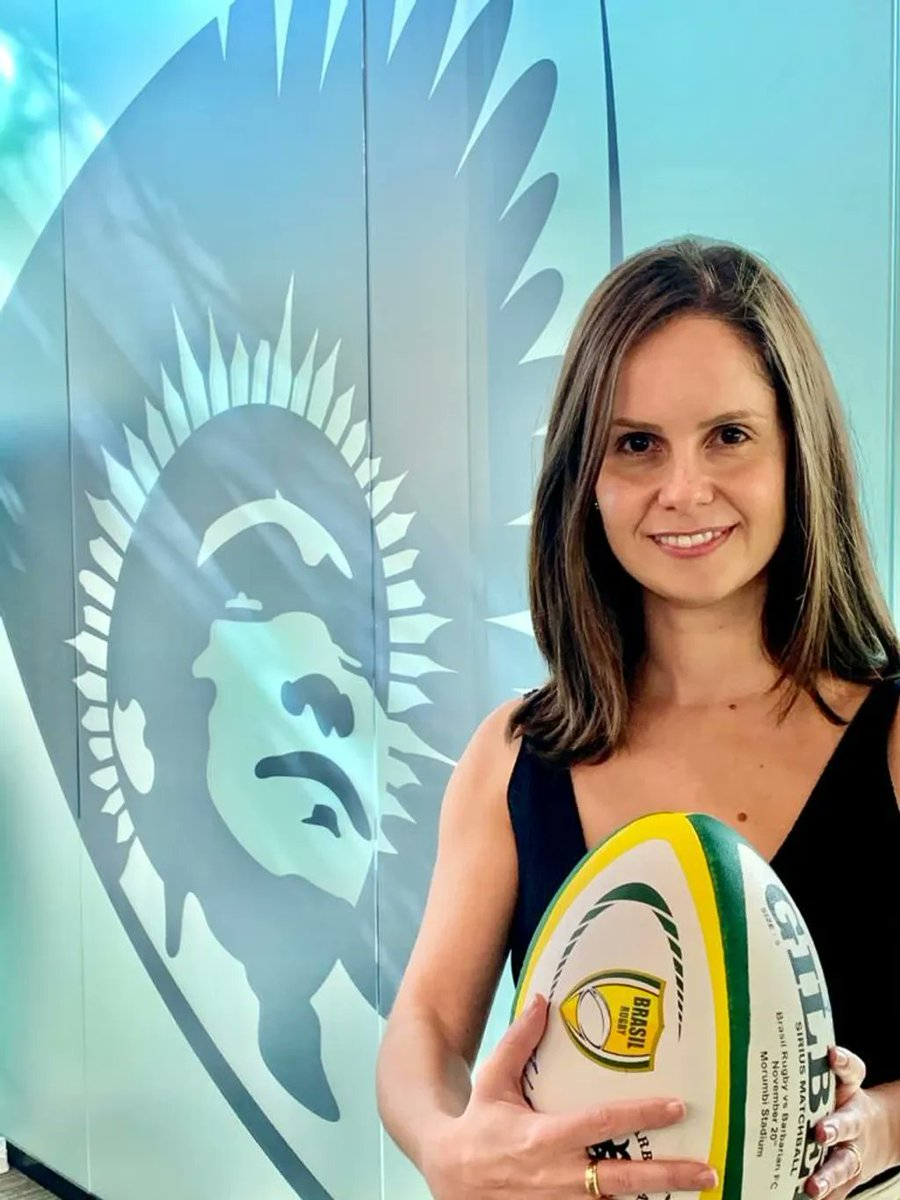 Mariana Miné | @brasilrugby  ingresa a una nueva era con el nombramiento de su primera CEO  Nota completa https://t.co/9NMcRvQhxZ  @sudamericarugby #MujeresEnRugby https://t.co/IJbKUh1wxi