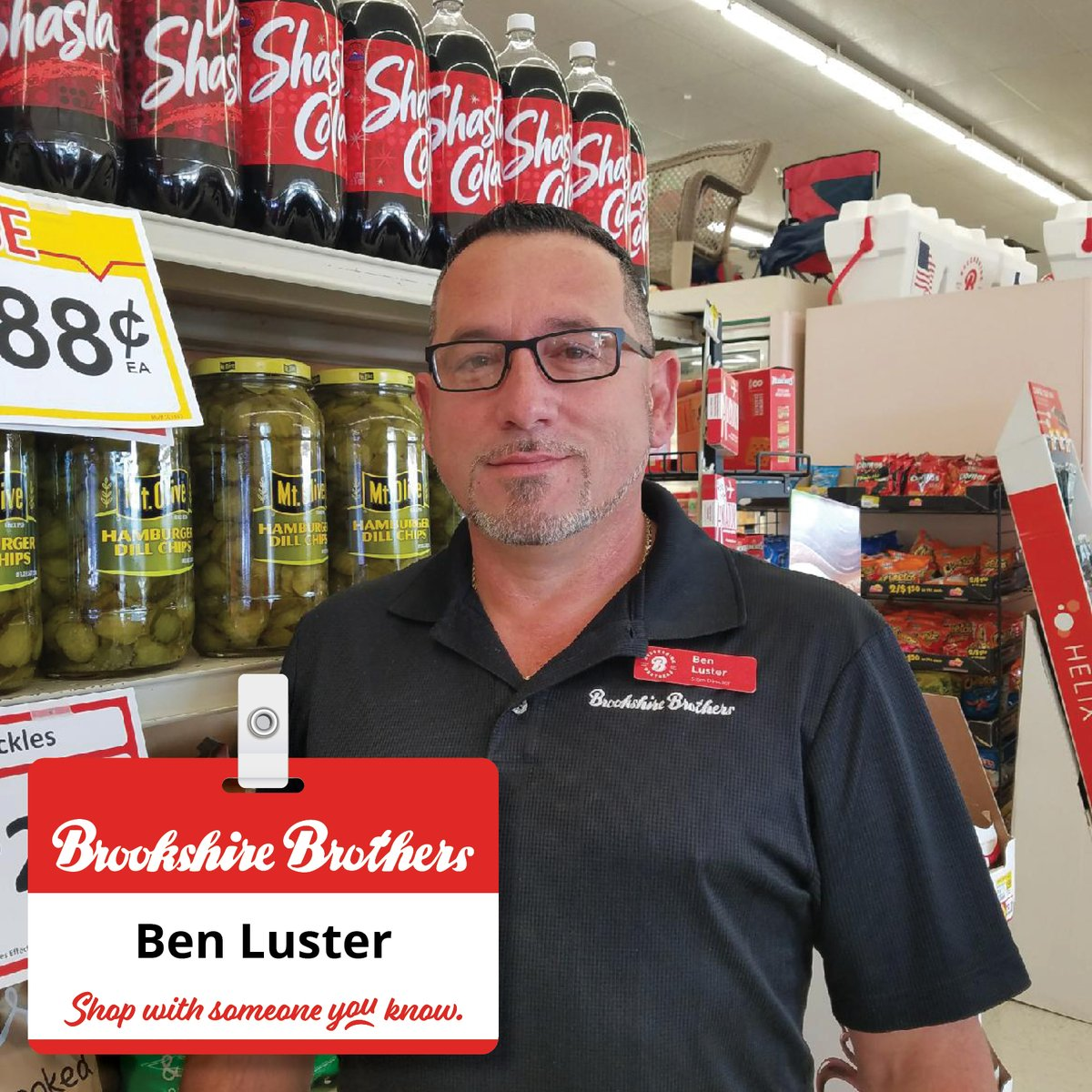 Recently Store Director Ben Luster of Rusk, TX did an amazing job helping a customer whose vehicle was hit in the parking... Read more: bit.ly/3pKTPQJ #Congratulations #ShoutoutSunday #EmployeeRecognition #BBPartner #EmployeeOwned #YourCommunityGrocerSince1921
