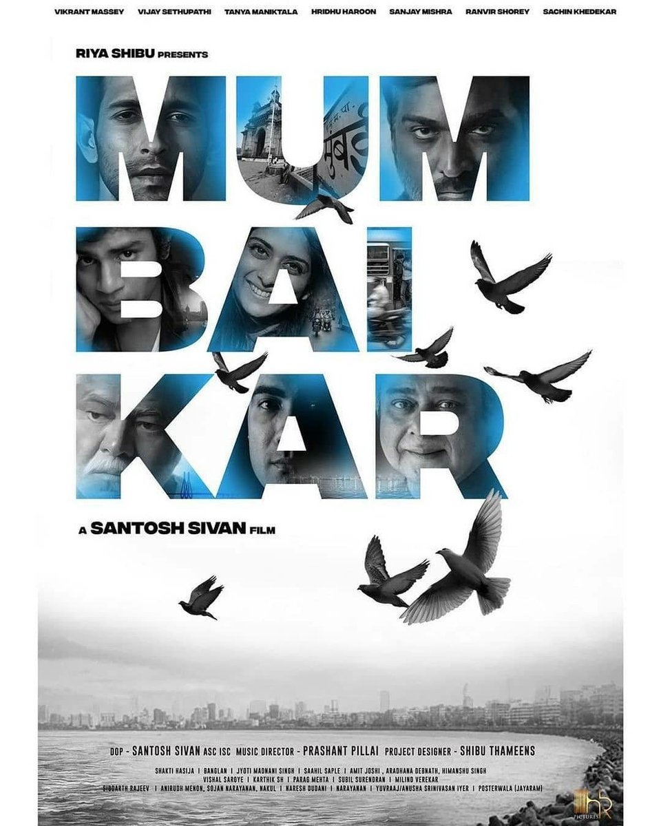 #VikrantMassey , #VijaySethupathi , #TanyaManiktala , #RanvirShorey , #SanjayMishra & #SachinKhedekar to star in Asoka director Santosh Sivan's #Maanagaram Hindi Remake #Mumbaikar . Written By Amit Joshi & Aradhana Debnath. . . . . . . . . . . . . . #akshaykumar #salmankhan