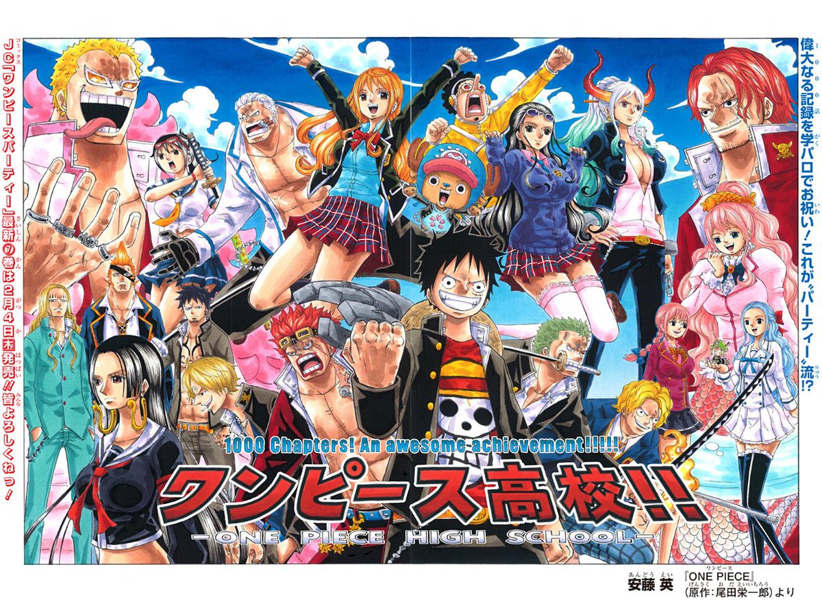 Image result for One Piece chapter 1000