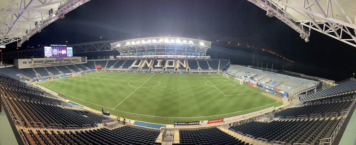 The last sporting event I covered in person was the Philadelphia Union vs. New England Revolution in the first round of the #MLSCupPlayoffs on November 24th, 2020.