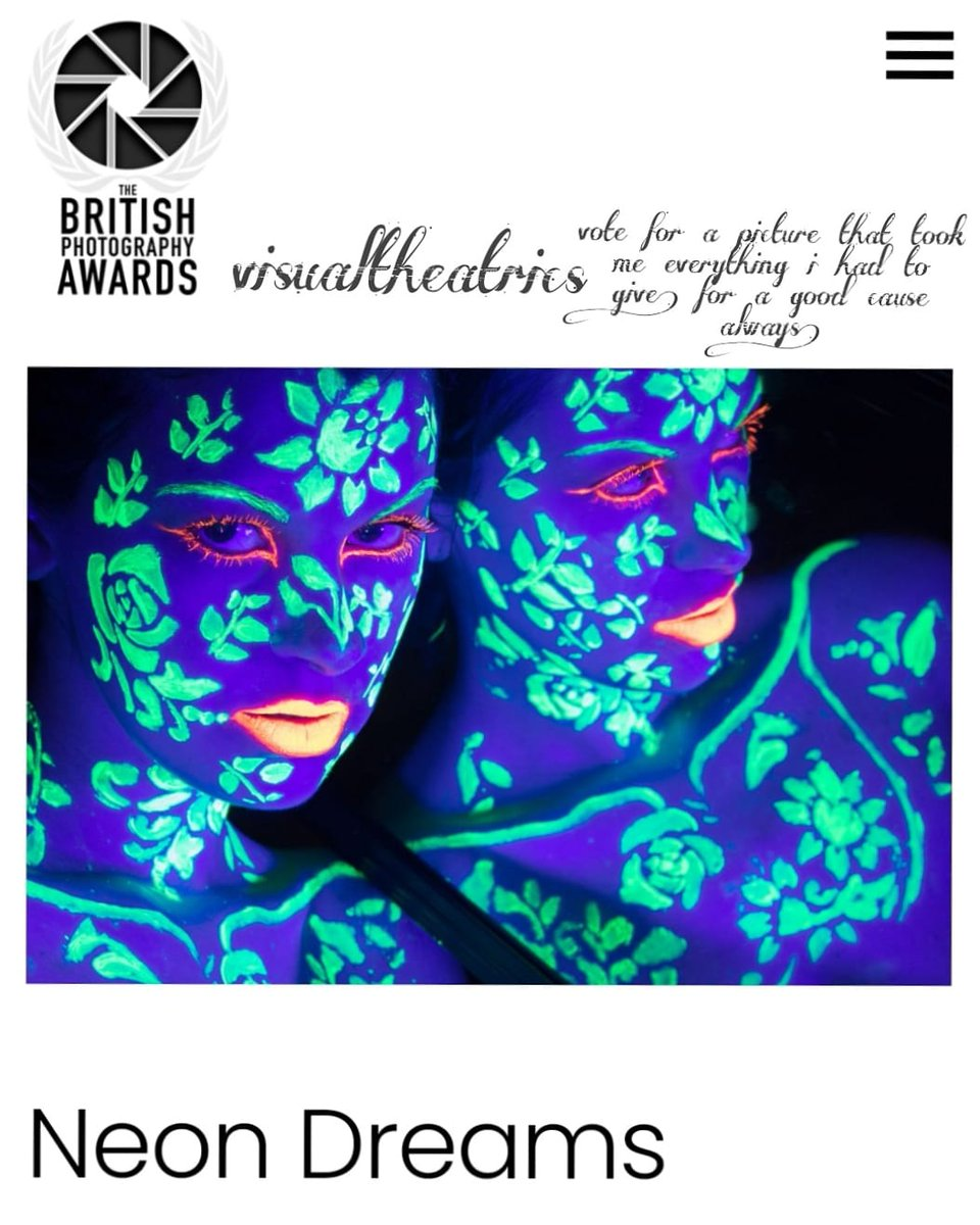 @GBPhotoAwards thank you for this #amazing #opportunity & wish everyone in every category the best of #luck! But of course i would #love you to #vote for me! In the #BPA #selfportrait s #neondreams  shot with the #canon750D #photography #2021goals #makeup