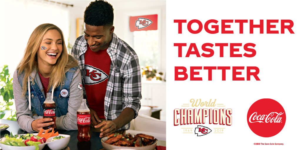 It's Gameday! As the @Chiefs wrap up their regular season this afternoon, be sure to enjoy Coca-Cola with all your homegate foods!