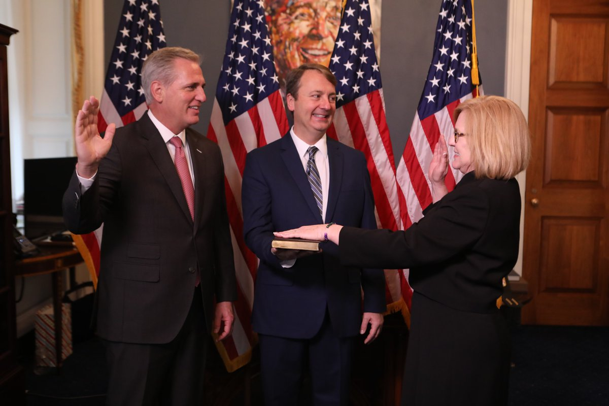 Proud to take my oath to represent Minnesota's 7th District in the U.S. House of Representatives! Follow along for updates from my congressional office.  It is an honor to serve!