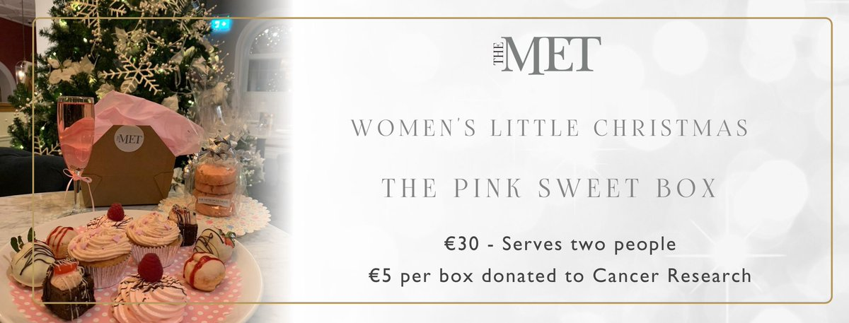 Spoil someone special this Women's Little Christmas!  We have a perfect treat box with pink sweets to enjoy at home.  Order online here:  #yaycork #corklike #corkfood