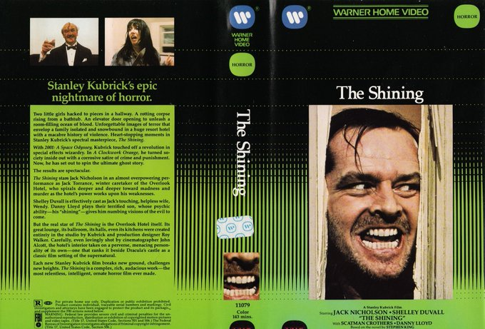 The Cinema Snob's full episode on Stanley Kubrick's The Shining is now up for early viewing on our Patreon