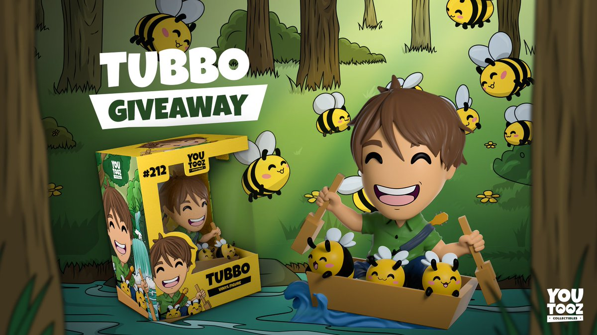 Replying to @youtooz: rt for tubbotooz... bloop...   winners picked friday before the drop 🐝