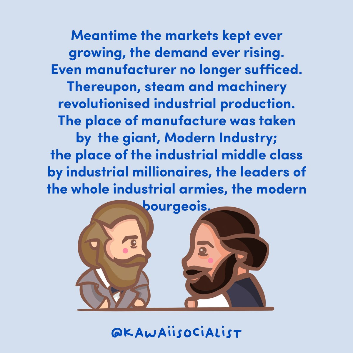 Growing up in the West, we were made to feel that communist beliefs were unsavoury, with many saying that they were 'extreme', 'radical' and 'far-left'. #socialism #socialist #communism #communist #marxism #karlmarx #friedrichengels #engels #theory #philosophy #politics
