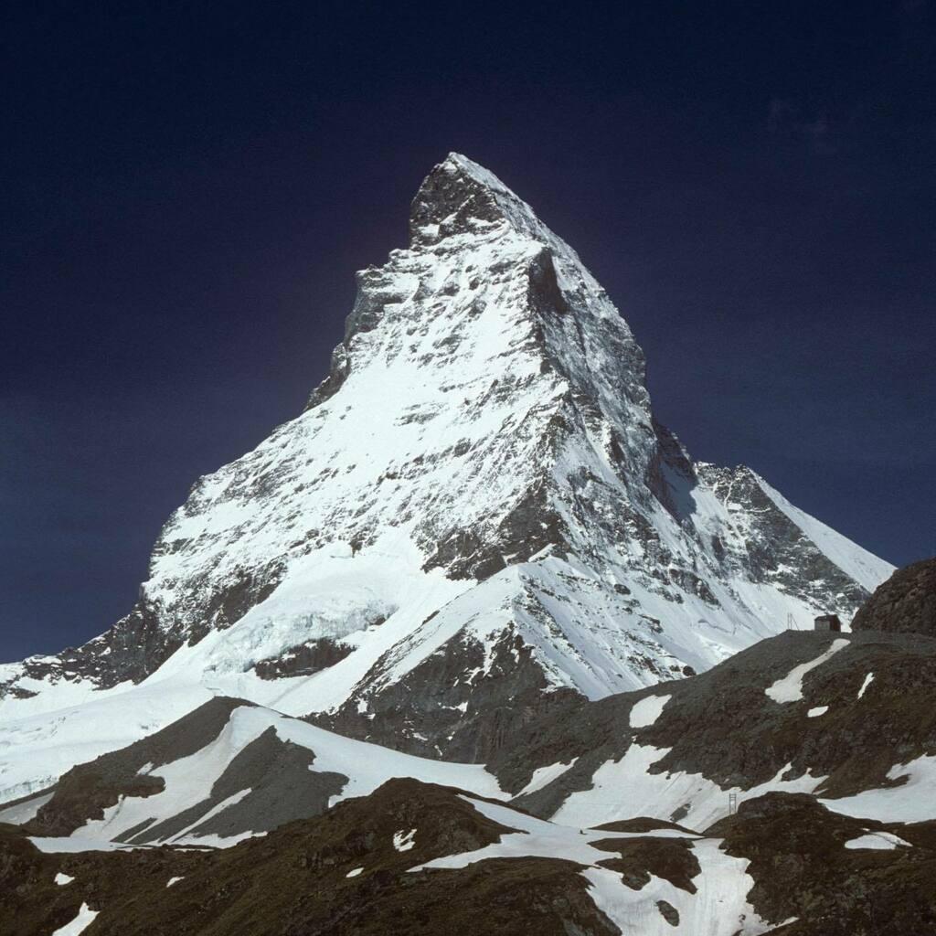 Mountains to climb . . . I always find the Matterhorn so inspiring. Just gazing at it renews us for travel in 2021.  #matterhorn #swissmountains #zermatt #inspiring #mountainpeak #snowcoveredmountains #inlovewithswitzerland #travel #journeys #zermattmatterhorn