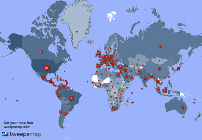 We have 588 new followers from Italy 🇮🇹, USA 🇺🇸, Mexico 🇲🇽, and more last week. See https://t.co/TGBuqfQlI9