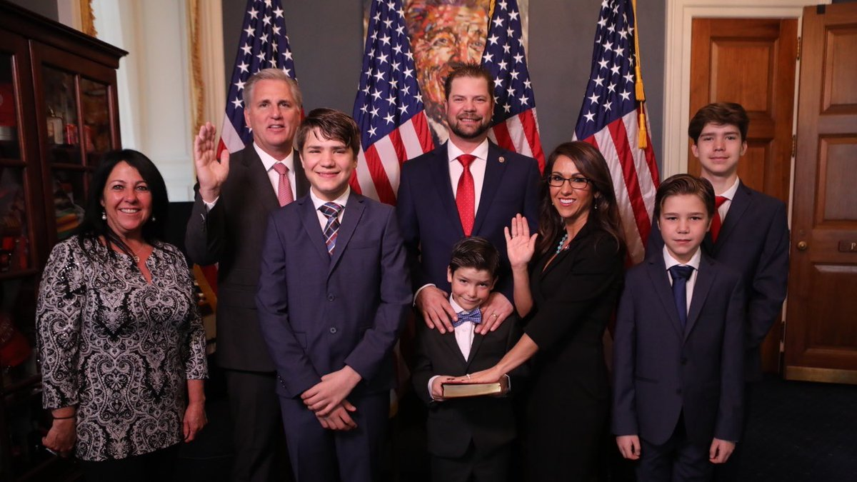 I'm proud to take the oath of office to represent & serve the great people of Colorado's 3rd District. I will work extremely hard to get the job done in a way that makes rural Colorado proud of their new Representative & more importantly, deliver results.