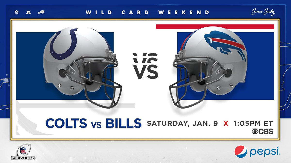 Replying to @BuffaloBills: The matchup is set.  #INDvsBUF | #BillsMafia