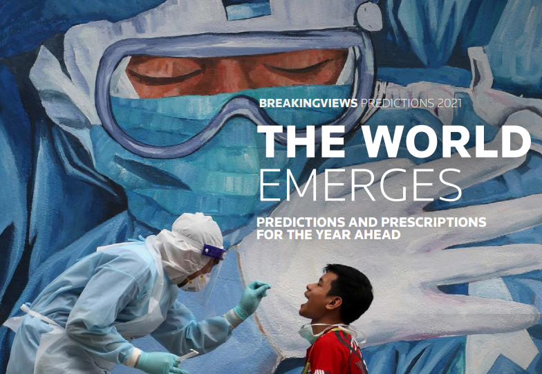 Our annual predictions for the year ahead are out: The verdict from @Breakingviews? Old appetites and excesses will return in 2021, but the divisions the pandemic exposed can't be forgotten. Download the PDF https://t.co/xUodOhiSGp or visit the site https://t.co/h4U9KYURIo https://t.co/dtNPPGZ9m0