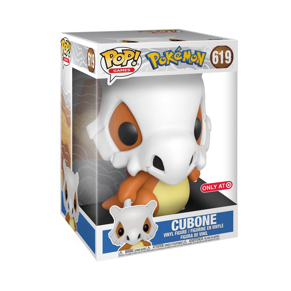 "RT & follow @OriginalFunko for the chance to WIN this @Target exclusive 10"" Cubone Pop!  #Funko #Funkogiveaway #giveaway #Pokemon #Cubone"