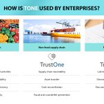 Image for the Tweet beginning: One token. Many industries. $TONE