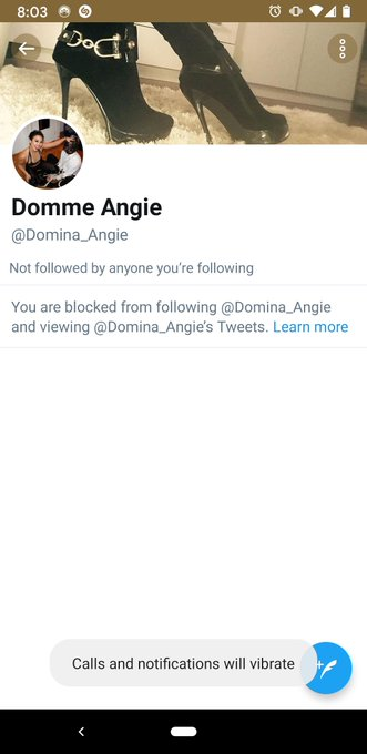 Not me report + block @domina_angie https://t.co/YbEnK2M1LH