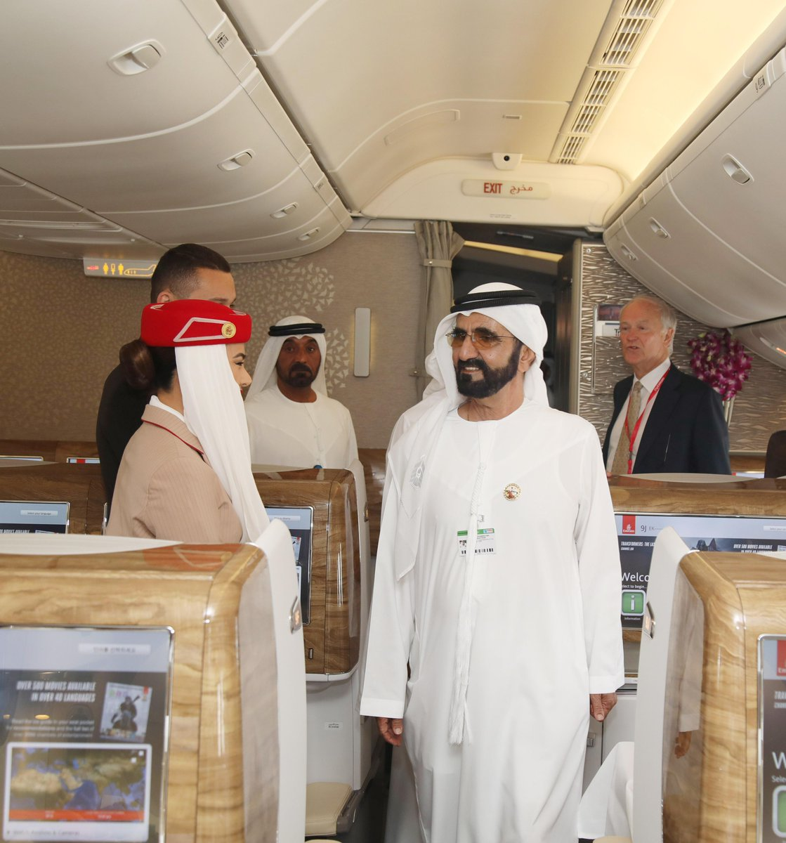 Emirates joins the UAE in congratulating @HHShkMohd for completing 15 exceptional years as UAE Vice President and Prime Minister, and Ruler of Dubai. Emirates has grown to be one of the world's leading international airlines under His Highness' dynamic vision and able leadership.