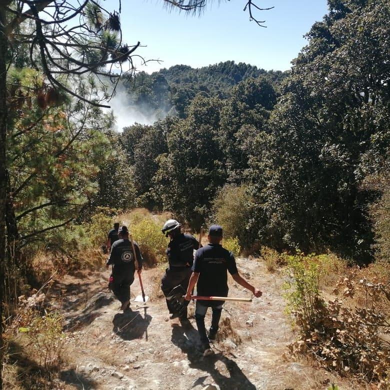 Nuestros bosques son importantes y su cuidado nos corresponde a todos. Sofocamos un incendio gracias a la activacion de voluntarios, vecinos y Proteccion Civil y Seguridad Pública municipal.  #Jiquipilco #SeguimosCumpliendo