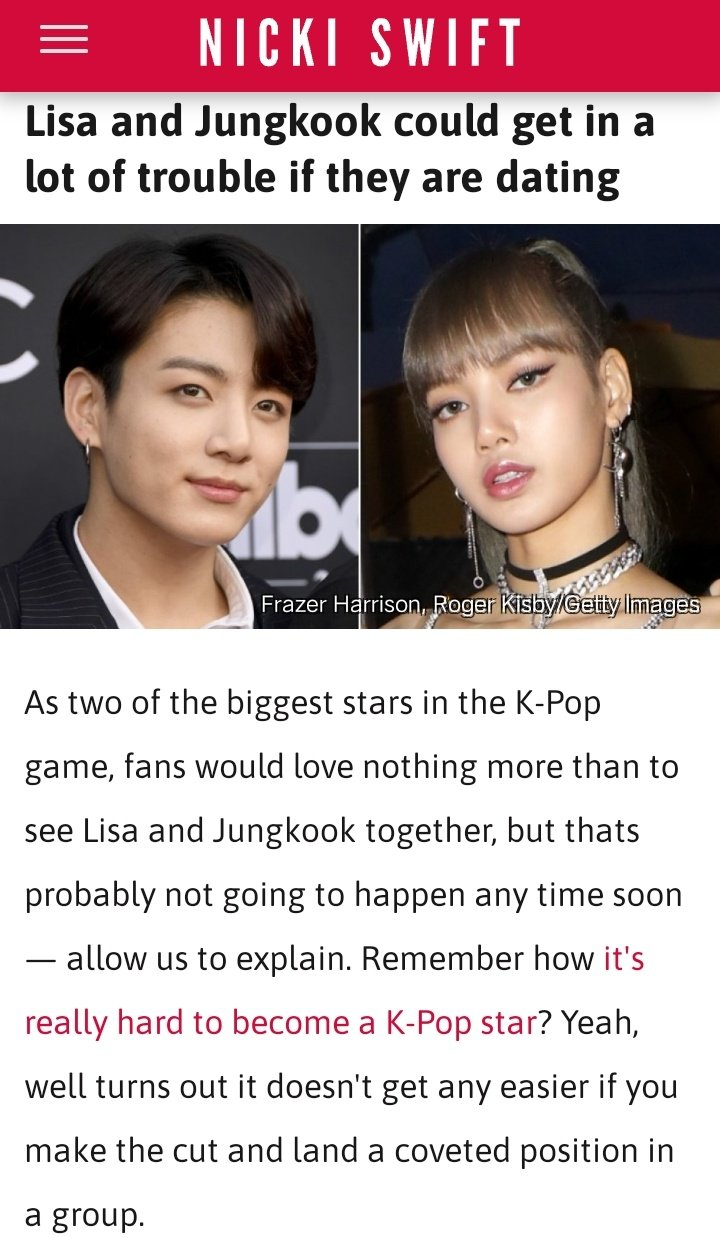 Dating scandal jungkook bts All the