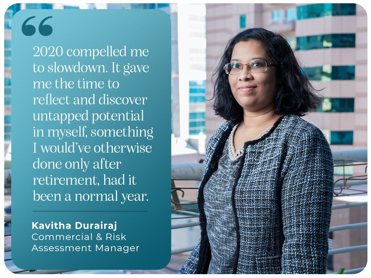 The lockdown from last year, coaxed us all to slowdown & reflect on ourselves. For some, it meant discovering hidden capabilities. Our Commercial & Risk Assessment Manager CA Kavitha Durairaj ascertains, this would be the learning she would take forward in 2021. #iamscientechnic https://t.co/KzHJz6I0oN