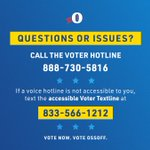 Image for the Tweet beginning: Call the GA Voter Protection