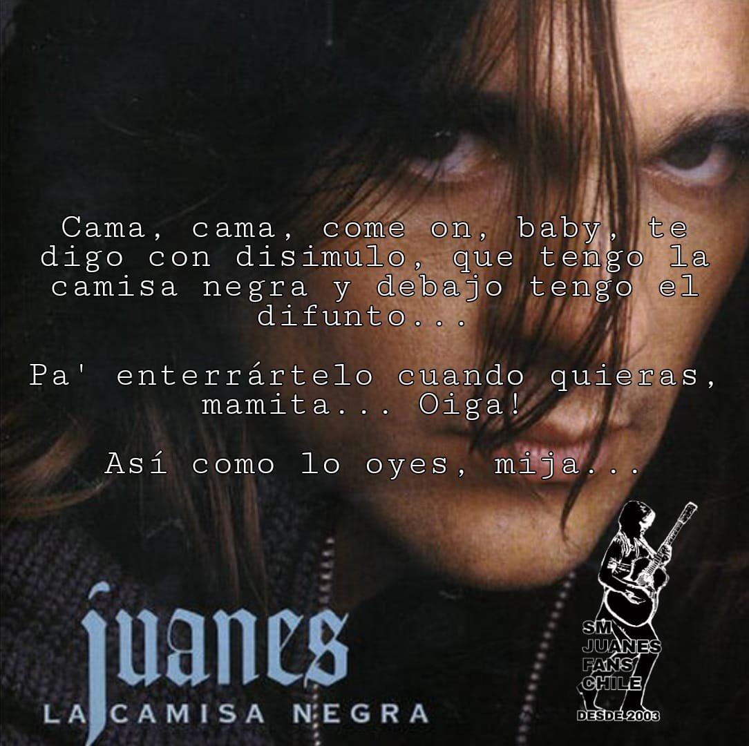 Partimos nuestro primer lunes de este 2021 con nuestros #LunesDeFrases y qué mejor que hacerlo con ritmo, alegría y picardía de #LaCamisaNegra!!! Jajajajaja amamos esto.  #FelizLunes queridos Juanáticos 🙌🏼❤️  @Juanes #DeColombiaParaElMundo #DeFansAFans #Juanáticos #JuanesLovers