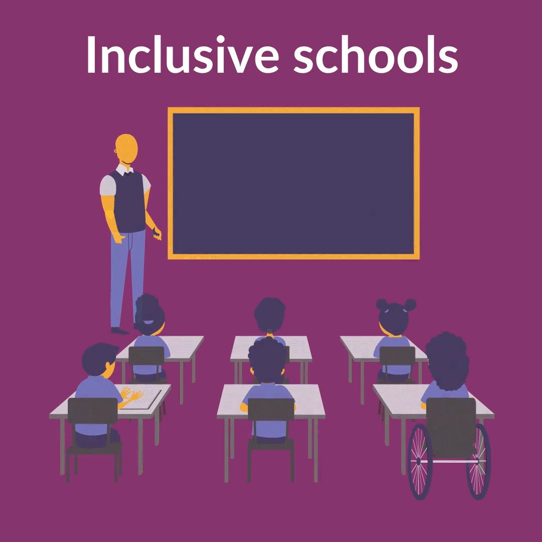 It's thought that one third of children who do not attend school – 19 million – have a #disability. Every child should be able to access their right to an #education.   via @Sightsavers   #LeaveNoOneBehind #EqualWorld