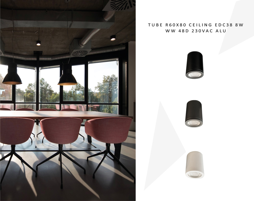 Remember the TUBE R60X80 CEILING ? It's now available in 3 new colors! It can also be customized ! Check out more photos here > -ceiling-edc38-8w-ww-48%ce%bf-230vac-alu/  #lights #barislight #patra #greece #lighting #led #design #customdesign #custom