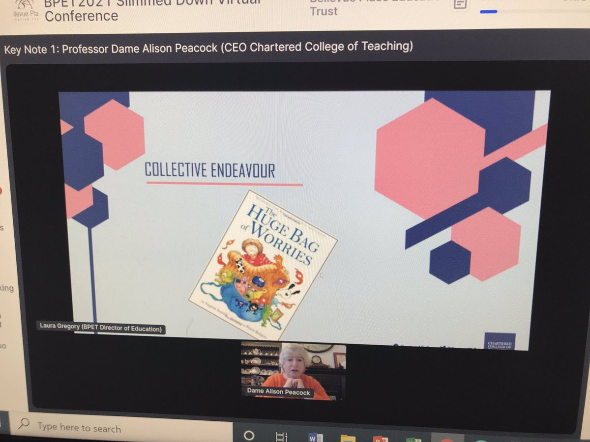 Really impressive day for our staff today with outstanding presentations from @AlisonMPeacock @CharteredColl and also @shirleyclarke_ so many things to have taken onboard for future discussions, delivery and teaching!
