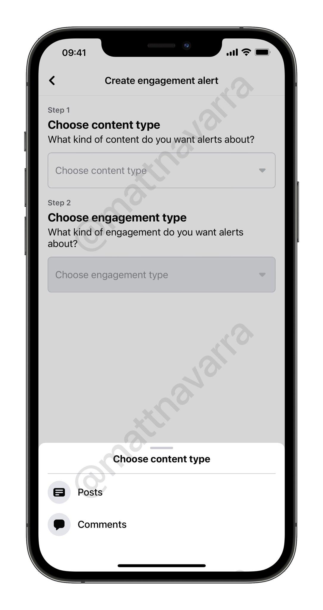 Facebook groups Engagement alerts