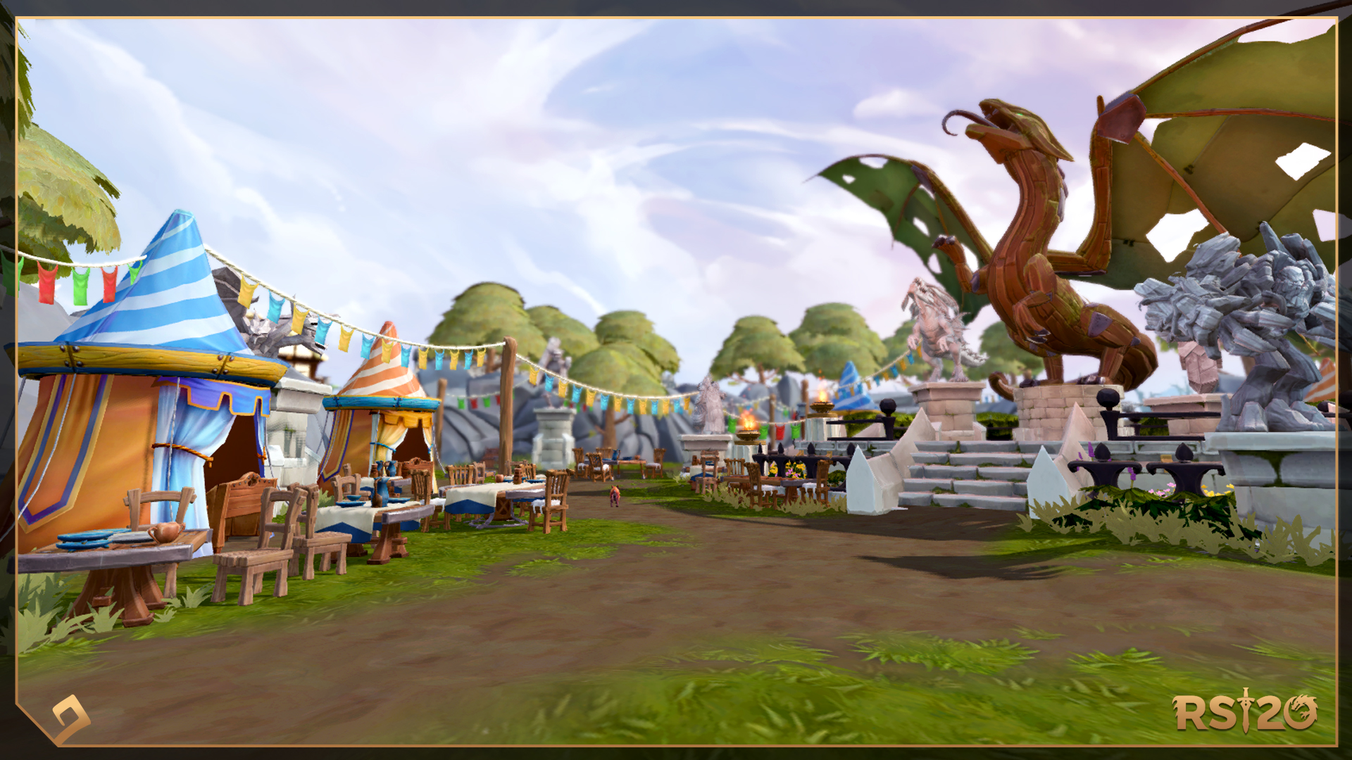 Runescape 2021 Christmas Event Runescape On Twitter It S Runescape S 20th Anniversary And We Re Throwing A Grand Party Https T Co Uodys4yyo0 From Jan 4 To Jan 31 There Ll Be Quests Buffs And A Celebratory New Outfit To Enjoy