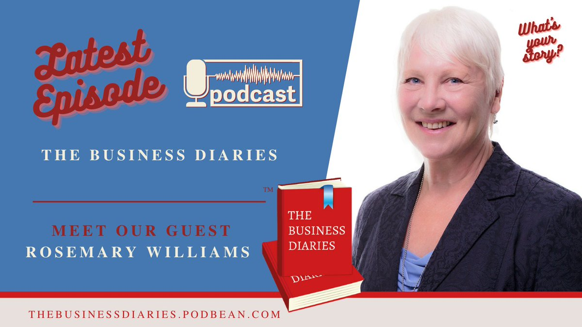 I'm all about the story, being a journalist, and my client Rosemary has had the chance to tell hers on this podcast.