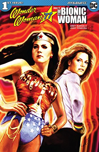 L❤VED this recent team-up: #Wonderwoman77 meets the #BionicWoman! 😁👍👏👏👏