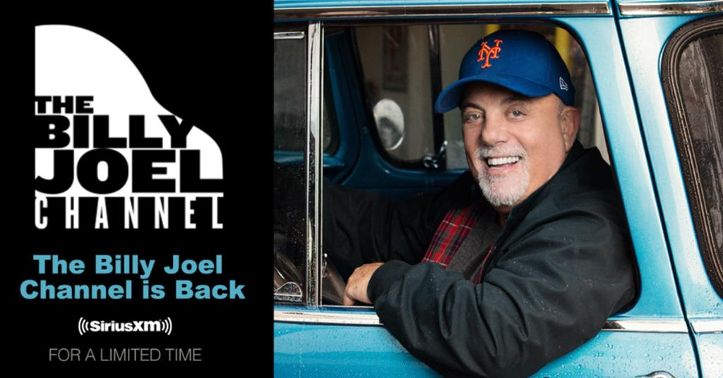 The @billyjoel Channel returns today, 1/4, to get you in the mood for a melody. 🎶🎹 Details: siriusxm.us/TBJC21