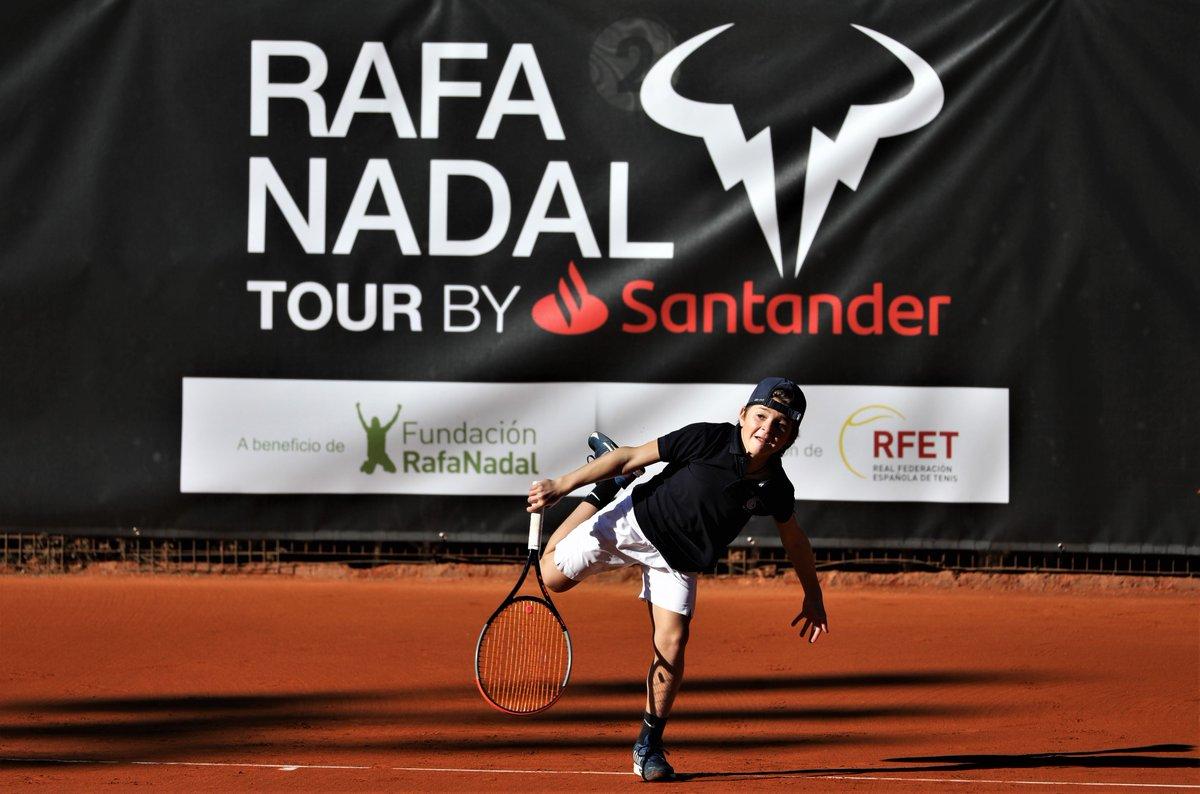 💪🏼¡Tenemos en juego el #RafaNadalTour! + info ➡️