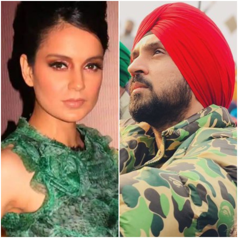 Kangana Ranaut mocks Diljit Dosanjh for holidaying abroad after 'instigating' farmers protest: 'This is a true local revolution'