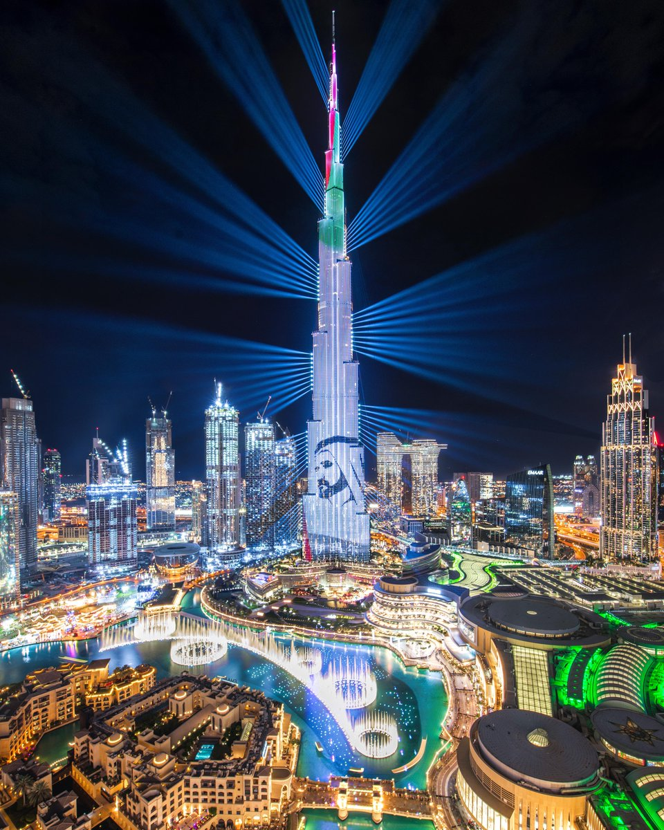 Today marks 11 years since the official opening of @BurjKhalifa, which coincides with the accession of @HHShkMohd as UAE Vice President and Prime Minister, and Ruler of Dubai, whose towering vision drives Dubai to excel and reach for the stars.  📸 Abdullah