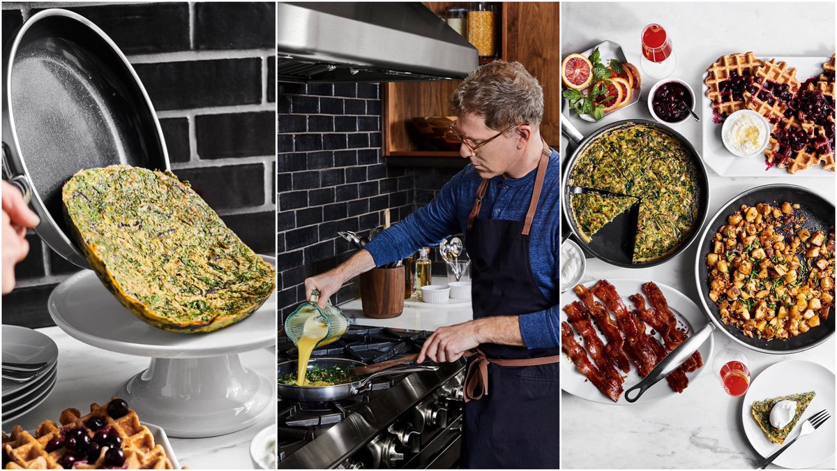 Excited to share I've partnered with @GreenPan_Intl Premiere, my absolute favorite nonstick cookware (which also delivers the perfect sear!!) tap here for my Winter Brunch menu plus the full collection at @WilliamsSonoma >> https://t.co/kO5MyAR00P #partner https://t.co/HIbzYBqfPp