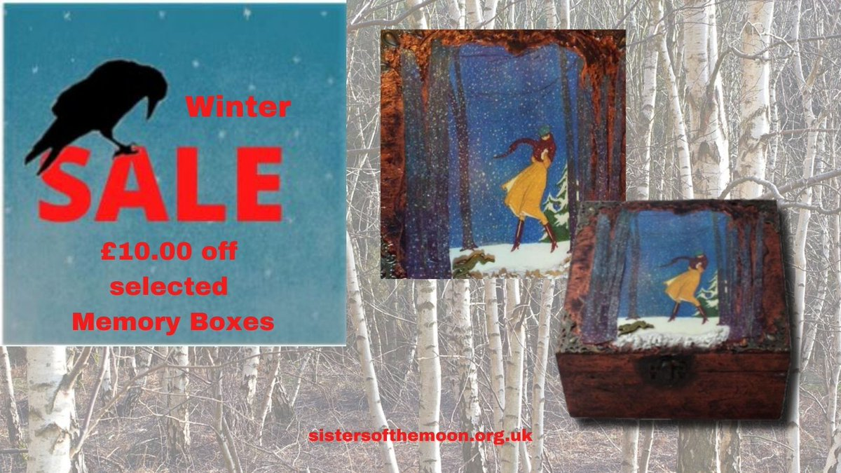 Don't miss out on Sisters of the Moon Winter Sale!  #earlybiz #InBizHour #UKGiftHour
