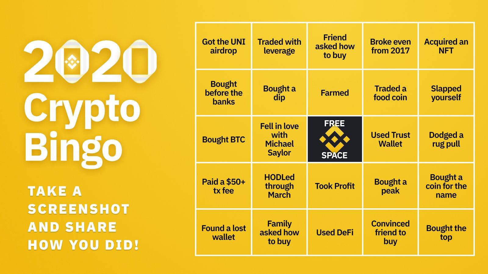 bitcoin bingo)